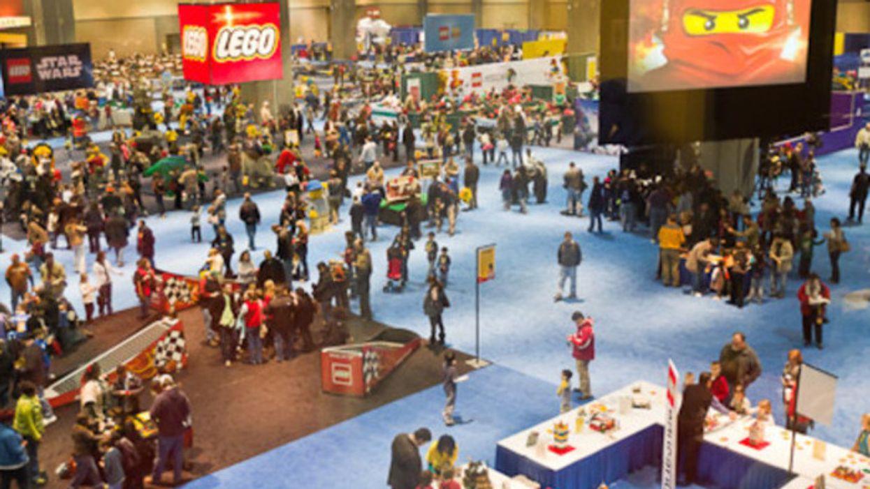 Un festival de LEGO débarque à Montréal ce week-end seulement!