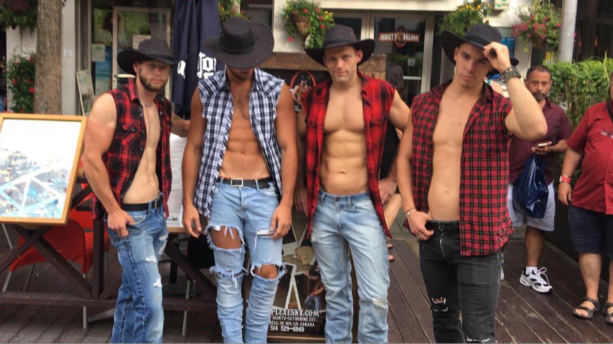 Un bar Coyote Ugly au masculin vient d'ouvrir à Montréal et tu dois y aller