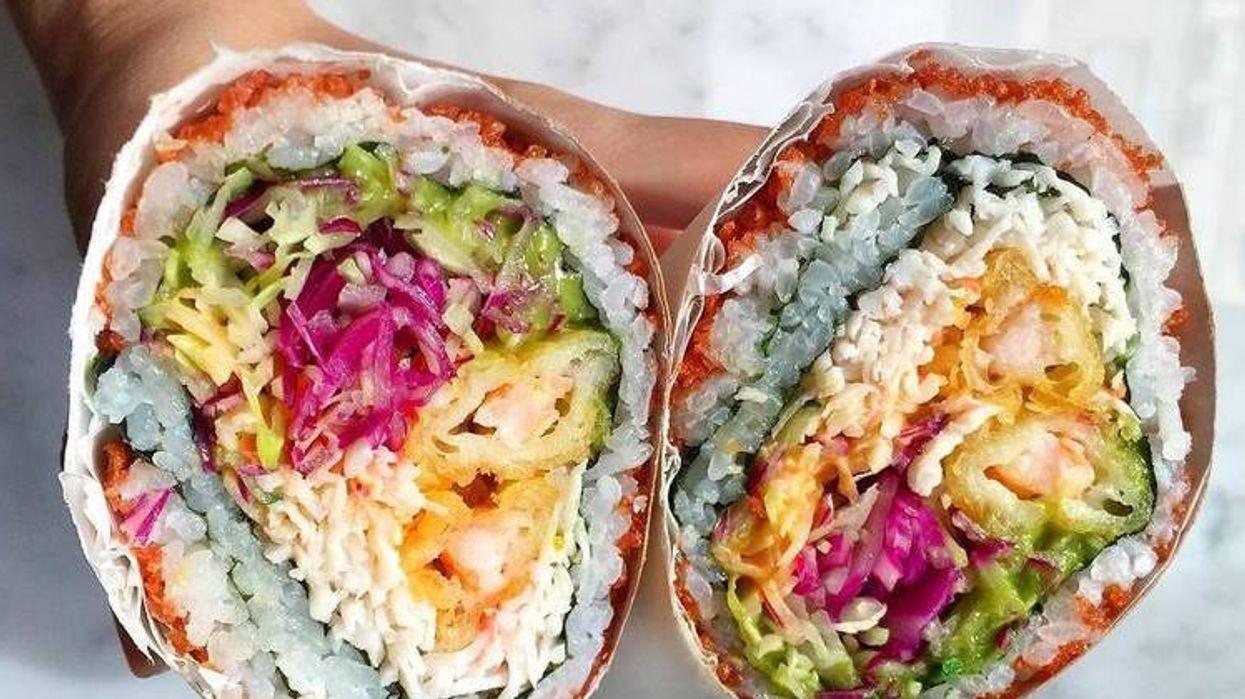 Le burrito sushi existe et tu peux te le procurer à Montréal!