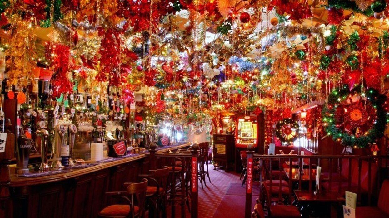 Un bar de Noël éphémère ouvre ce soir à Montréal et tu dois absolument y aller!