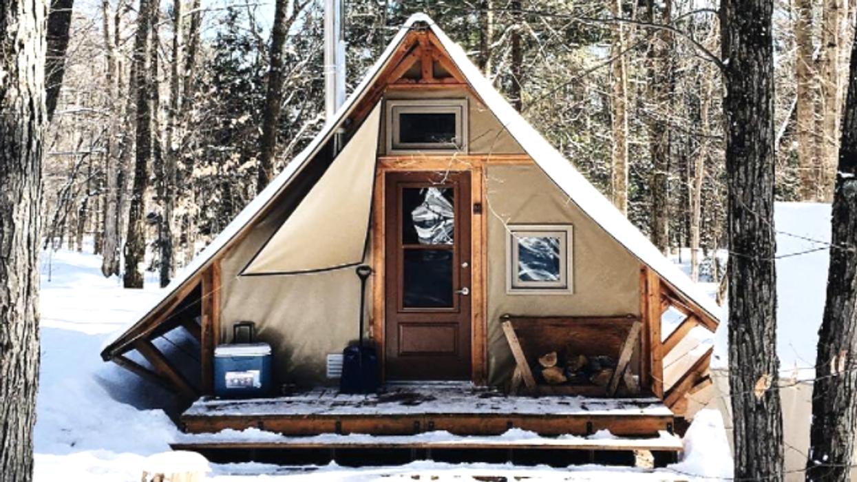 La plus belle cabane en forêt proche de Montréal à essayer cet hiver