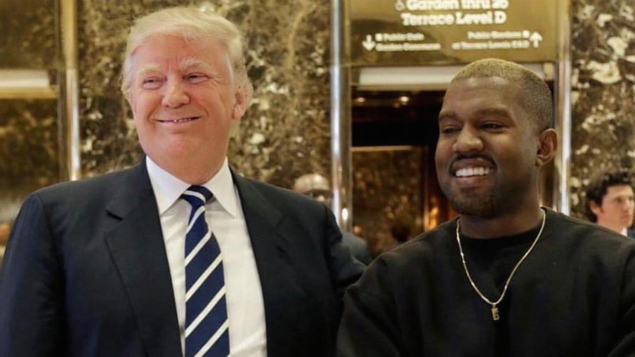 La raison pourquoi Kanye West a été vu avec Donald Trump aujourd'hui