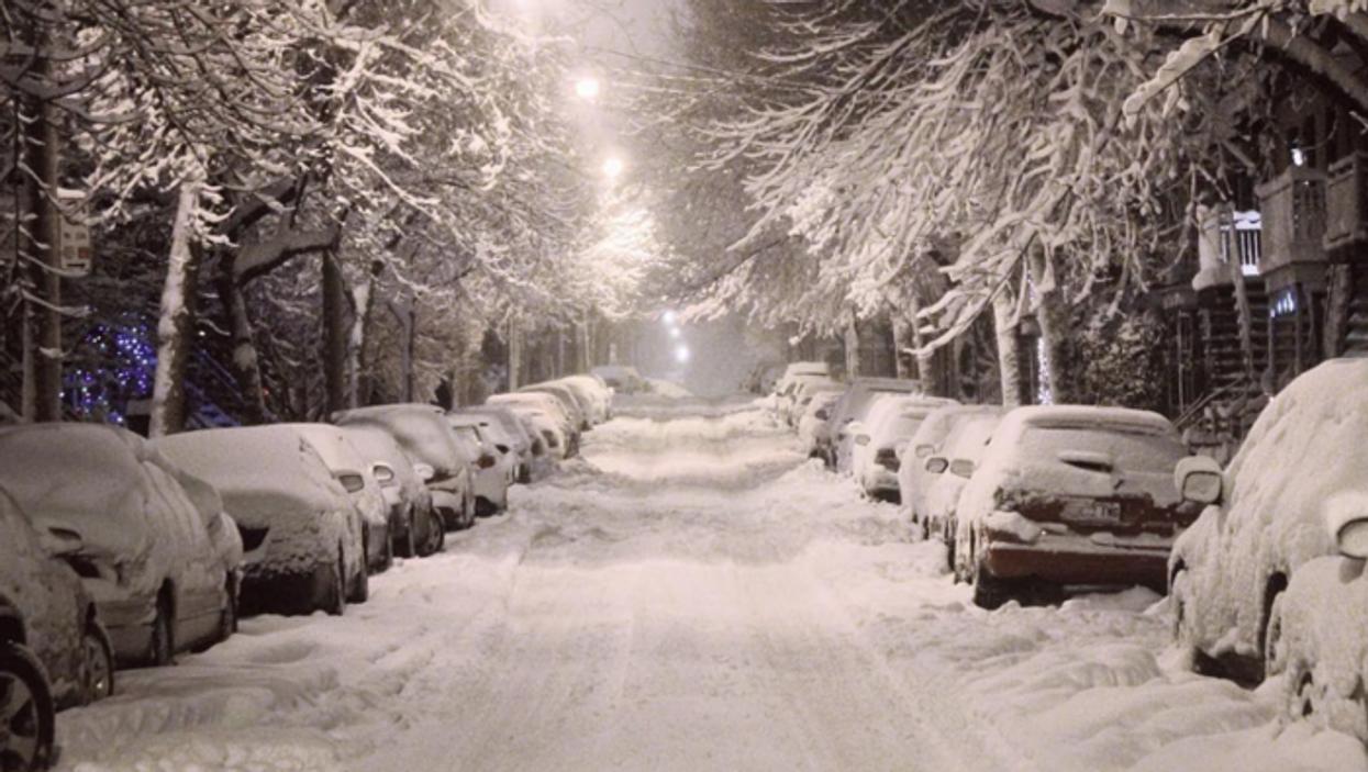 Une méga tempête de neige va s'abattre sur le Québec la semaine prochaine