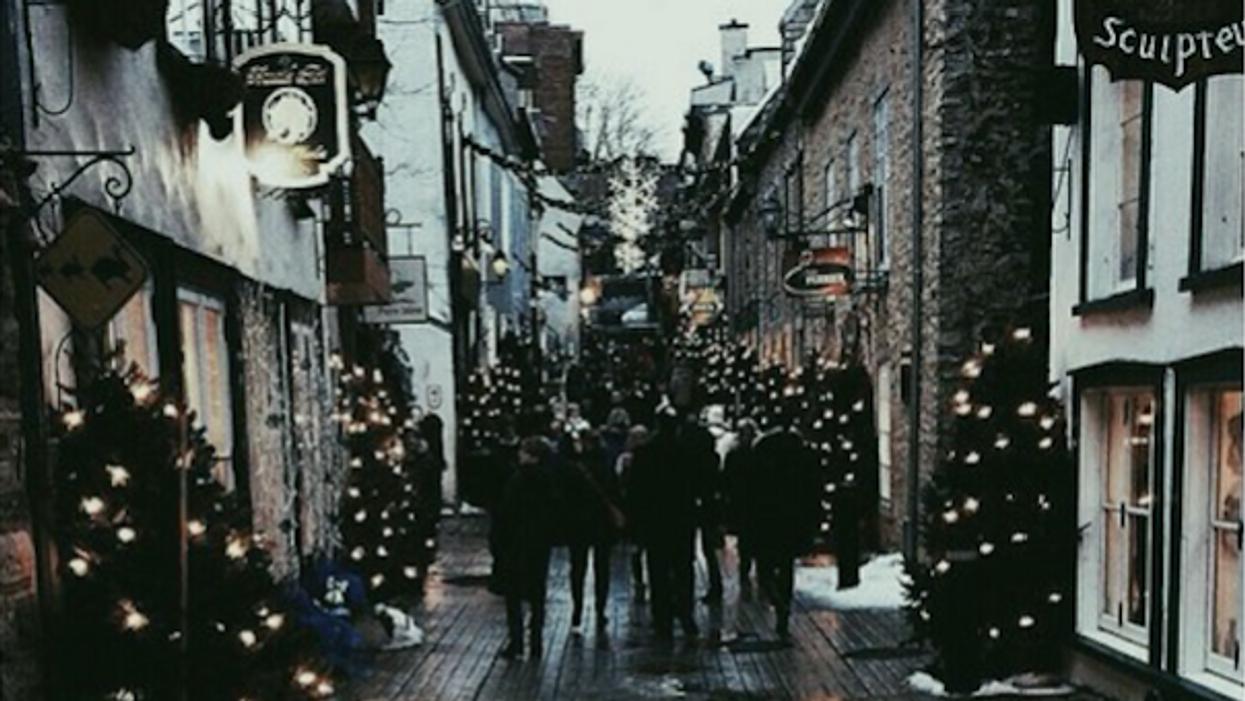 Un nouveau marché de Noël s'installe à Montréal jusqu'à dimanche seulement!