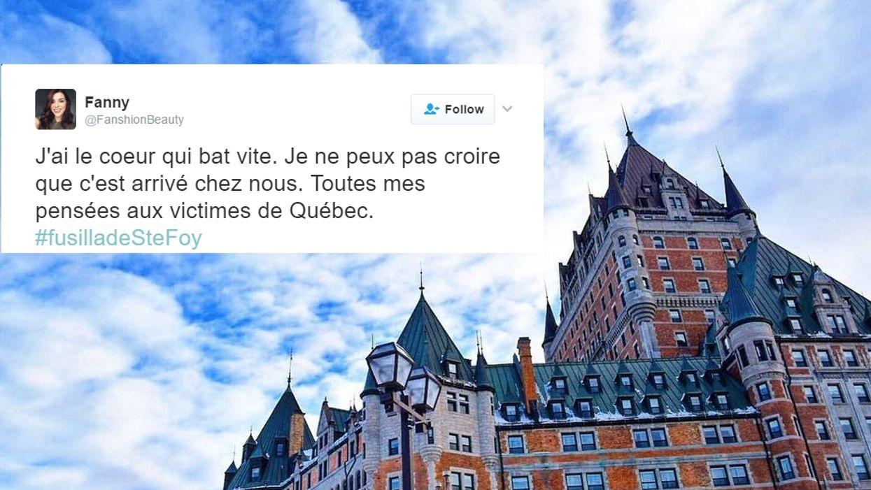 Le Québec est complètement sous le choc face à l'attentat d'hier à Québec (10 tweets)