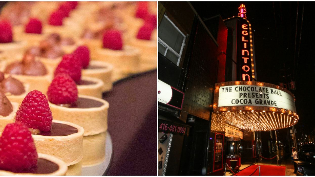 You're Going To Want A Golden Ticket To The Chocolate Ball Happening In Toronto This Fall