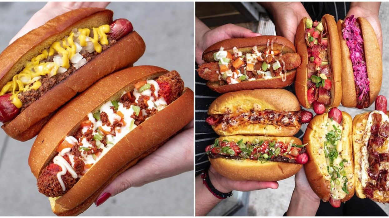 This Toronto Restaurant Is Giving Out Free Hot Dogs All Day Today