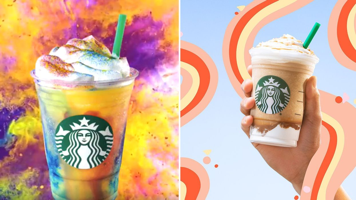 Starbucks Canada Is Having A Buy One, Get One Free Deal On All Frappuccinos AND Espresso Drinks Tomorrow