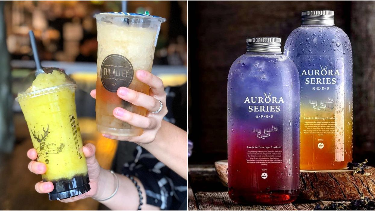 You Can Get Free Bubble Tea At The Opening Of The Alley In Montreal This Weekend