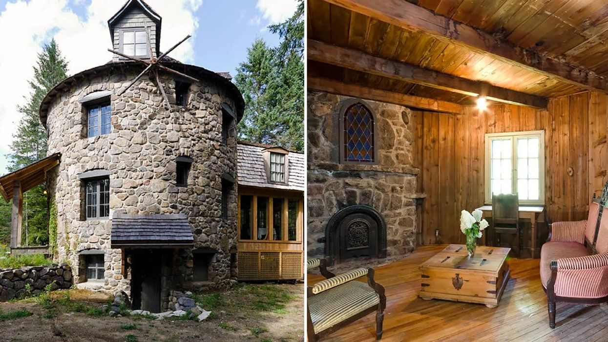 You Can Sleep In This Majestic Fairytale-Like Windmill Near Montreal