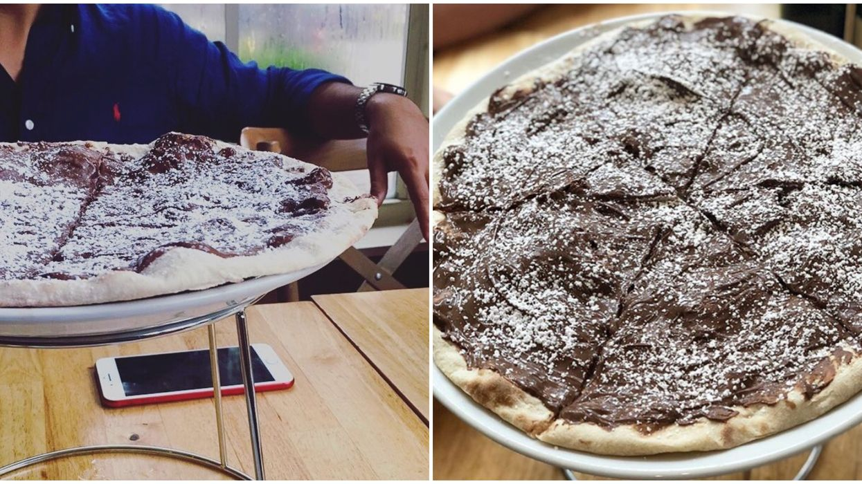 Nutella Pizza Is An Actual Thing At This Hidden Miami Pizzeria