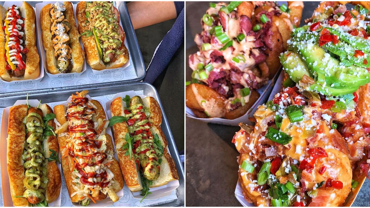 This Mouth-Watering Restaurant In Richardson Has Over 20 Different Types Of Loaded Hot Dogs