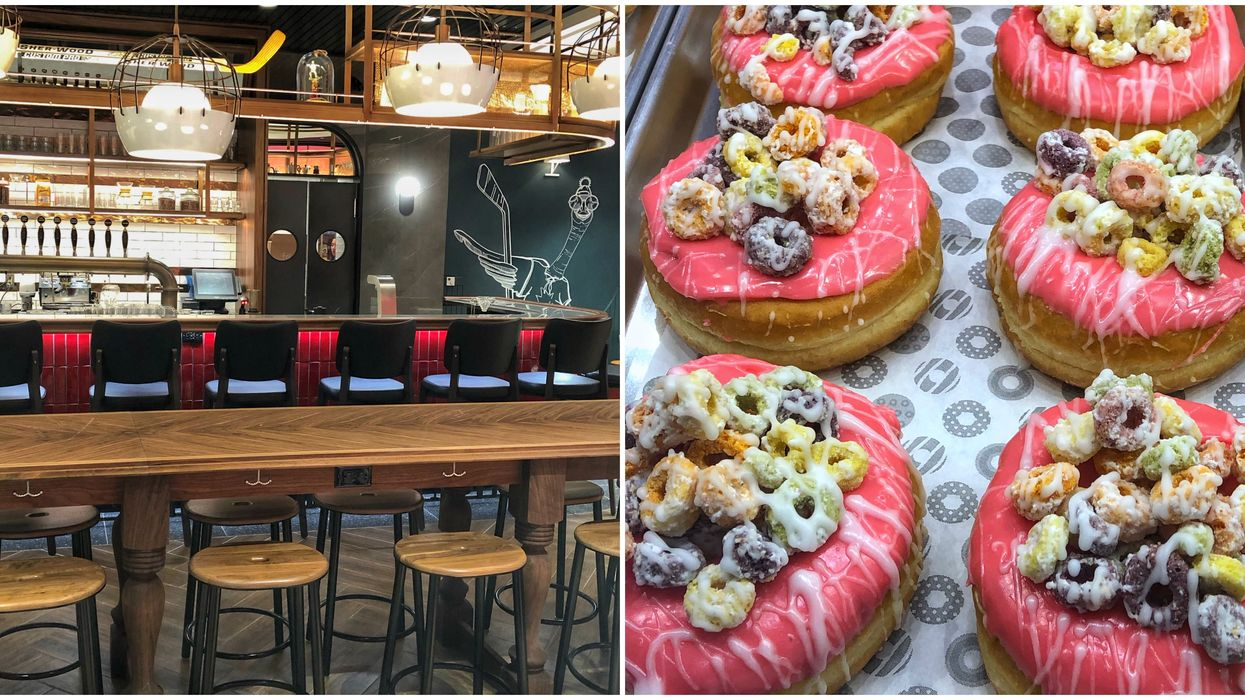 Tim Hortons' Brand New Over-The-Top Toronto Café Is The Perfect Date Spot (PHOTOS)
