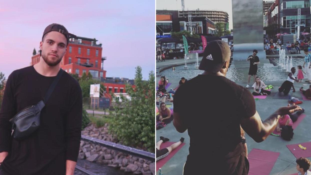 Yan d'OD Grèce organise un « workout » extérieur gratuit à Montréal ce week-end et c'est parfait pour te motiver