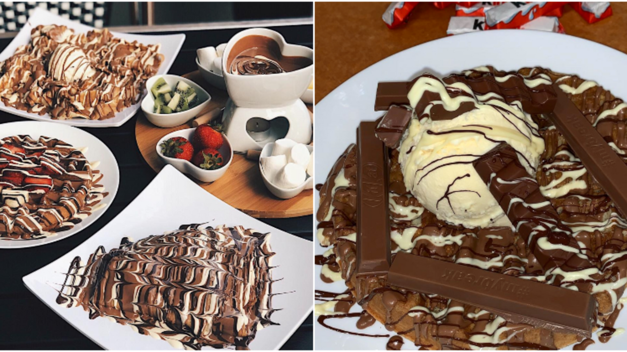 This Sweet Cafe In Houston Takes Chocolate Desserts To A Whole New Level