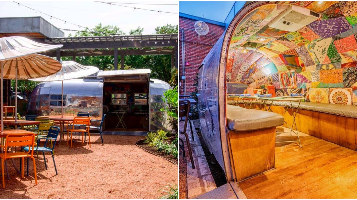 This Funky Dallas Airstream Is Actually The City's Tastiest Tiny Hidden Restaurant