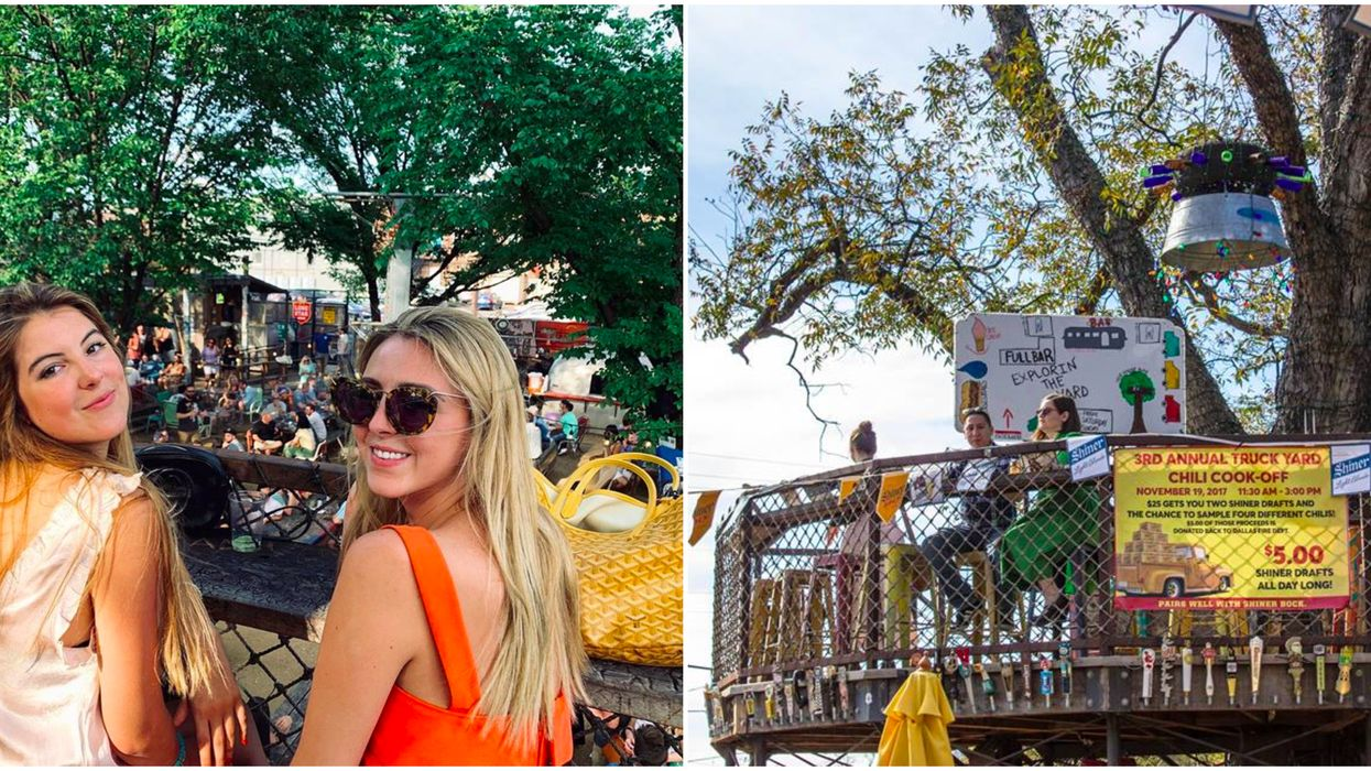 This Funky Bar In Dallas Has A Scenic Treetop Patio Where You Can Sip Your Drinks