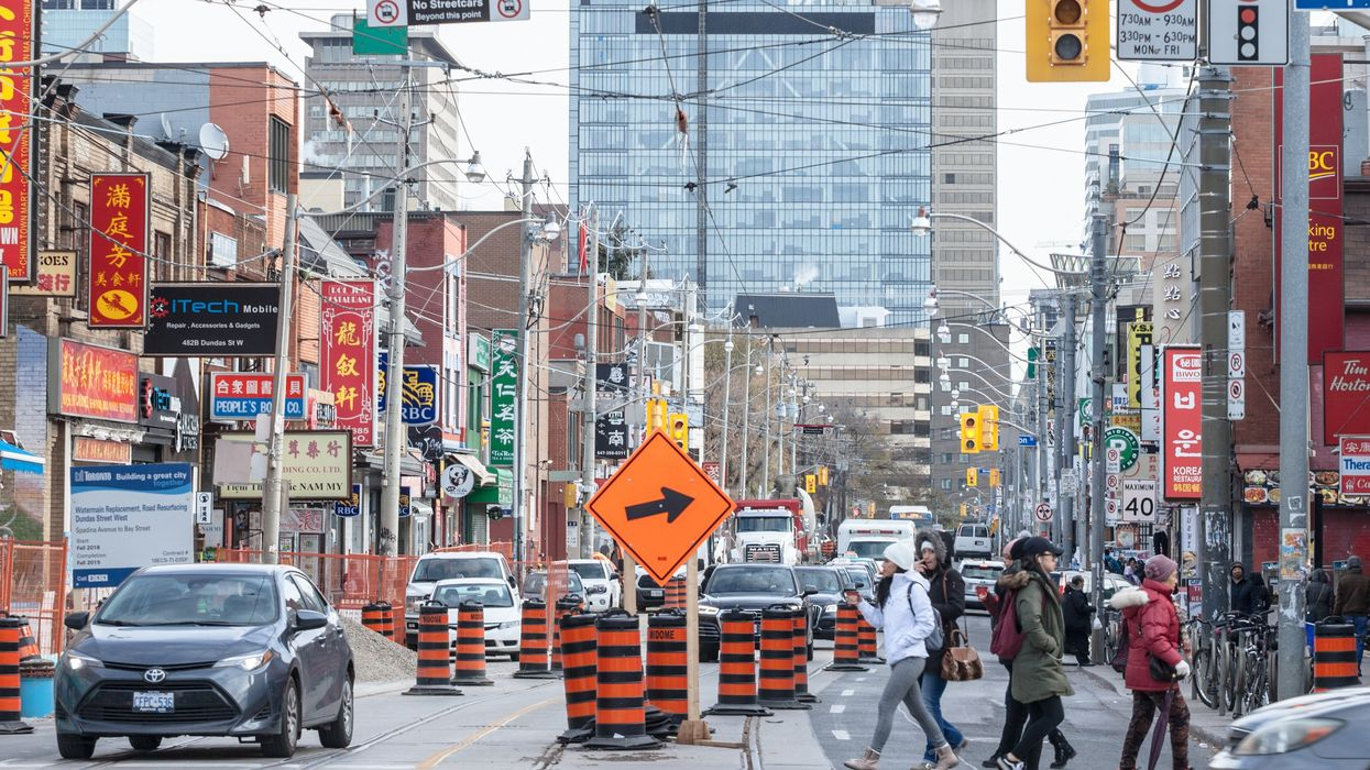 Toronto's Richmond Street West Is Going To Be Construction Nightmare For The Next Year