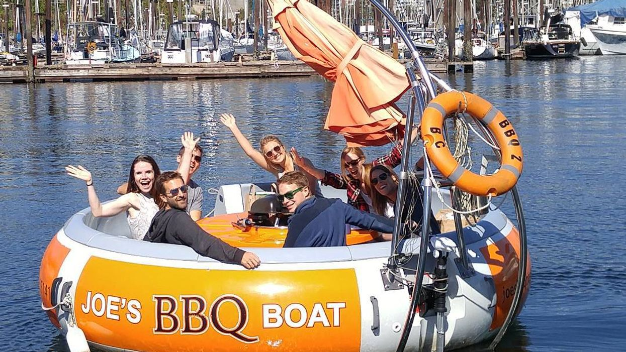 Make Your Last Summer Barbeque Next-Level On These Floating BBQ Boats In Vancouver