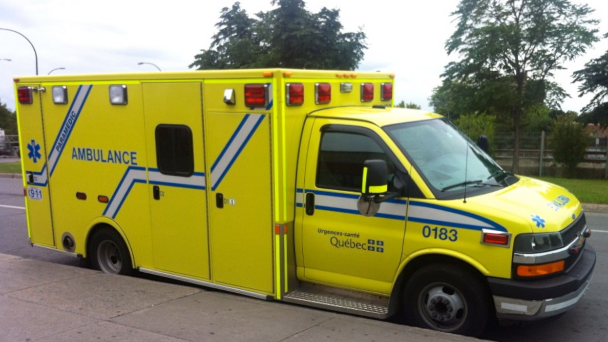 Canadian Paramedics Take To Social Media After Finding A Nasty Note On Their Ambulance