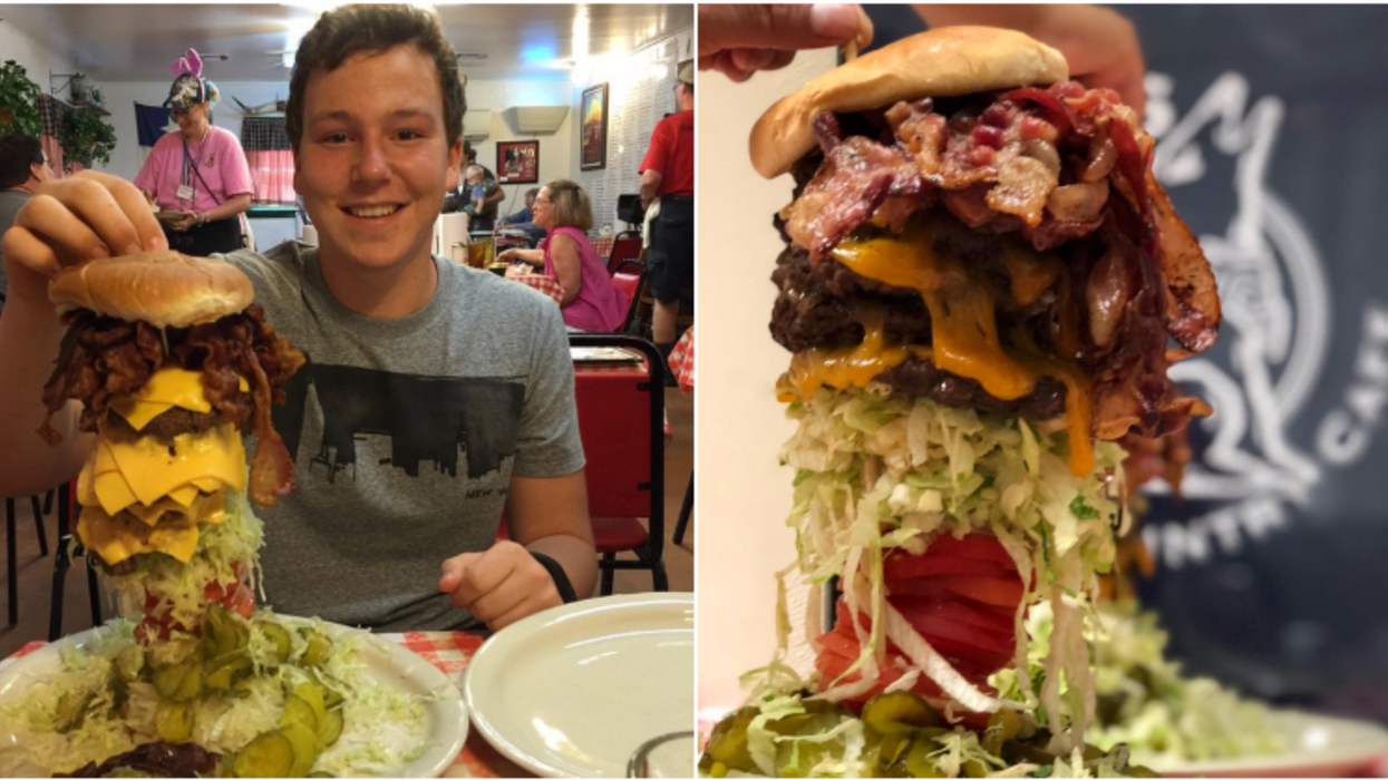 You Can Try The Ultimate Three-Pound Burger Challenge At This Joint In Houston