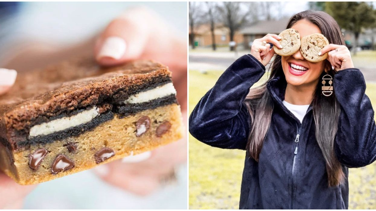 You Can Now Get A Three-Layer Brownie Filled With Oreos And Cookie Dough In Atlanta