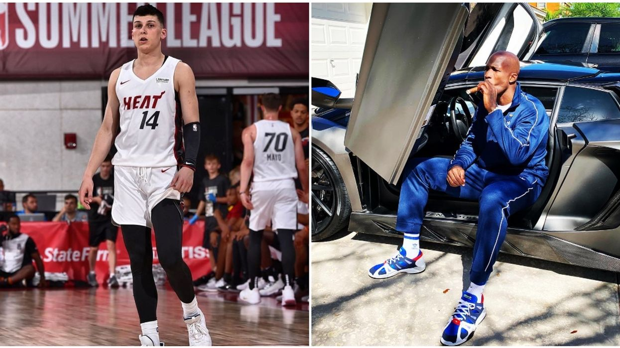 Miami Heat's Tyler Herro And NFL Player Chad Johnson Are Hitting Up The Streets Of Miami Together
