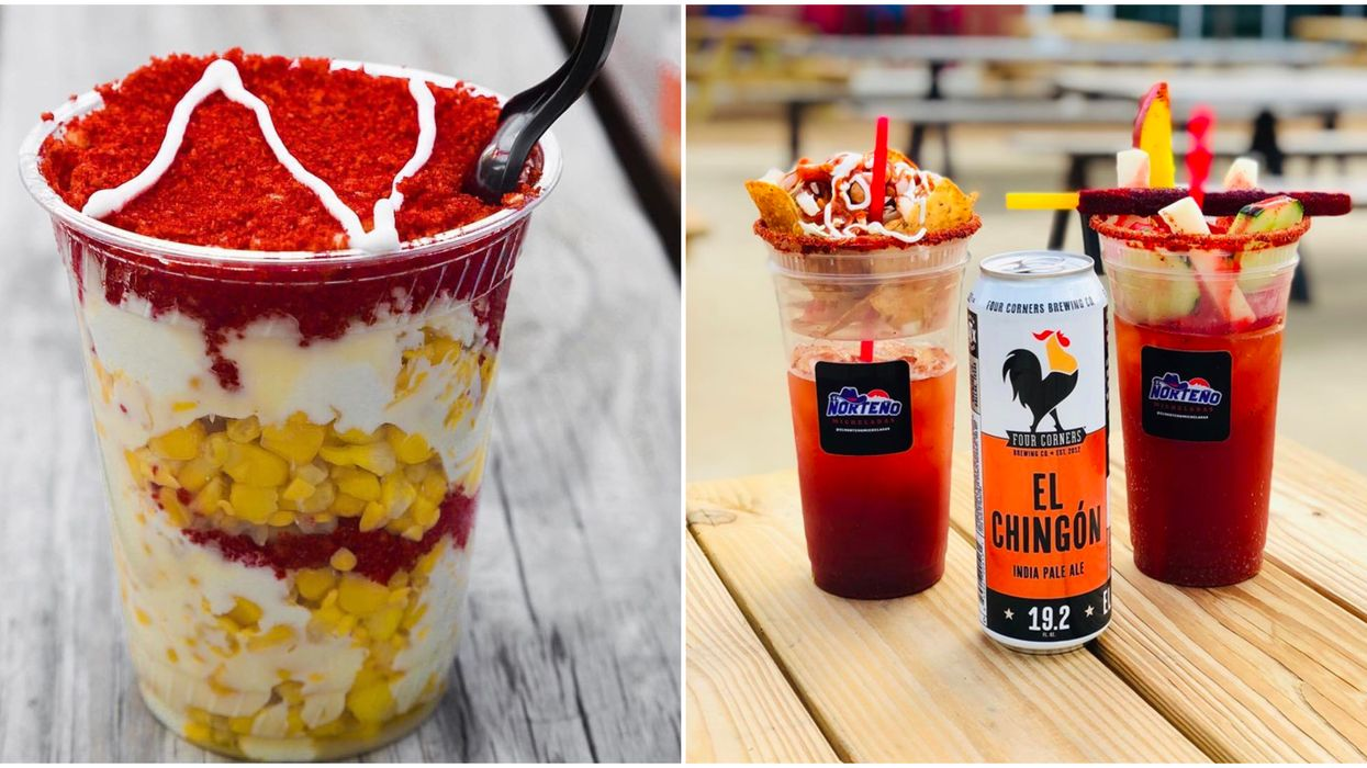 This Tasty Dallas Shop Serves The Most Delicious Mexican Street Treats