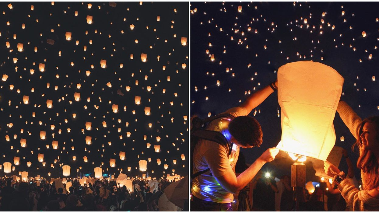 A Dreamy Floating Lantern Festival Is Happening Near Toronto This Fall