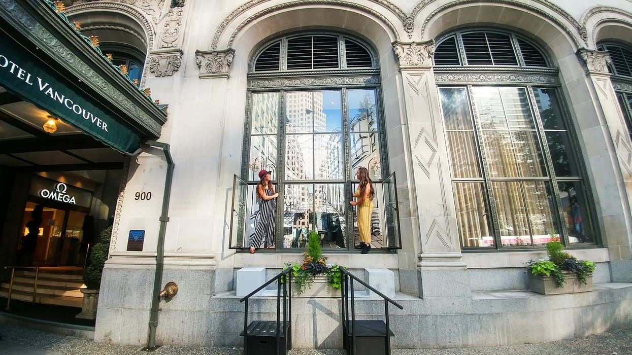 Vancouver's Most Unique High Tea Experience In A Window Display Is Coming This August For One Month Only