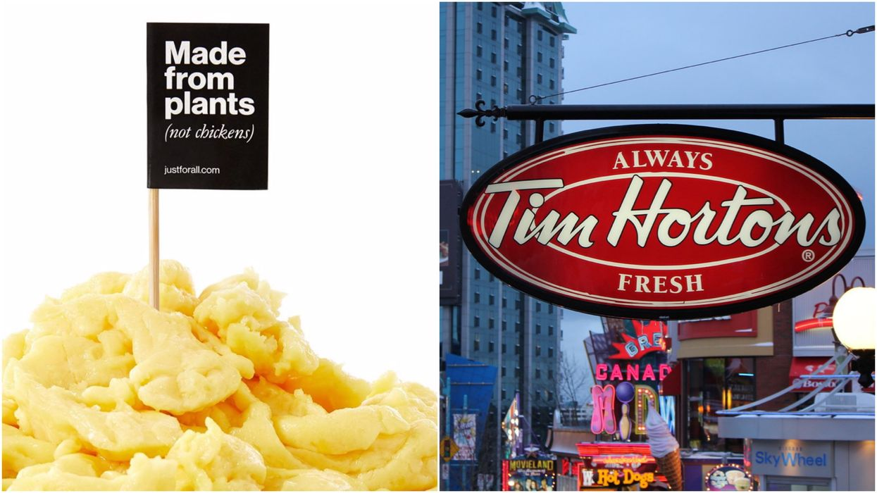 Tim Hortons Is Giving Brand New Plant-Based Eggs A Crack In Canada