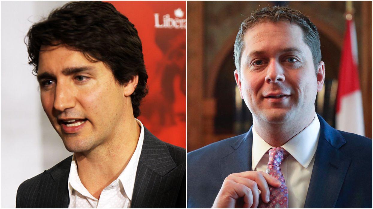 Trudeau Has Spent $92K On Liberal Facebook Ads Since June But Scheer Is Not Far Behind