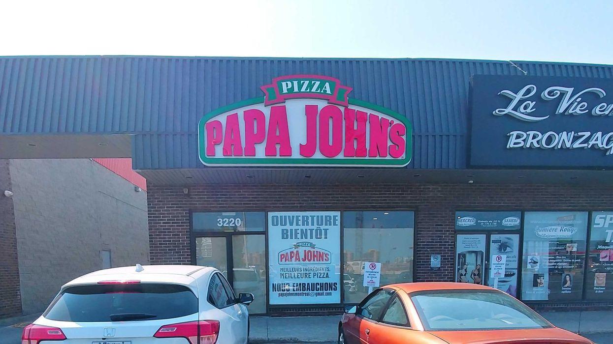 Un nouveau Papa John's Pizza va ouvrir à Laval et ce sera le seul au Québec
