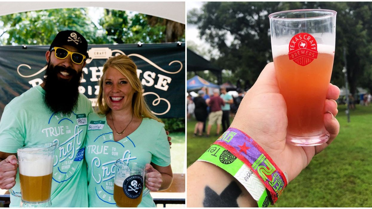 You Can Try Over 200 Types Of Beer At This Giant Austin Festival In September
