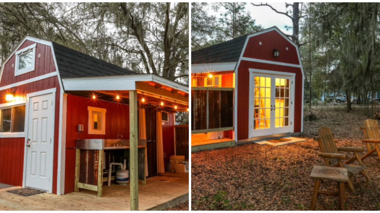 You Can Rent This Tiny Barn Airbnb In Florida For The Ultimate Glamping Experience