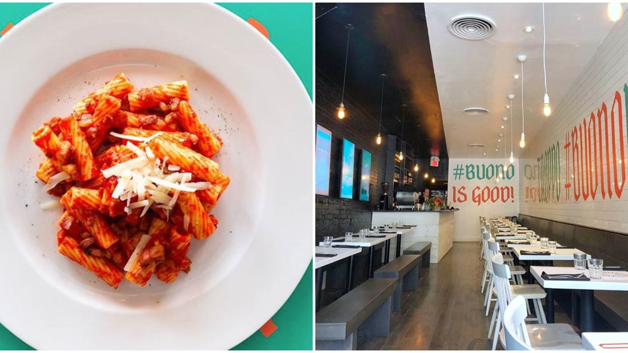A Sinfully Delicious Italian Pasta Bar Just Opened In Toronto And It's A Carb-Lover's Paradise