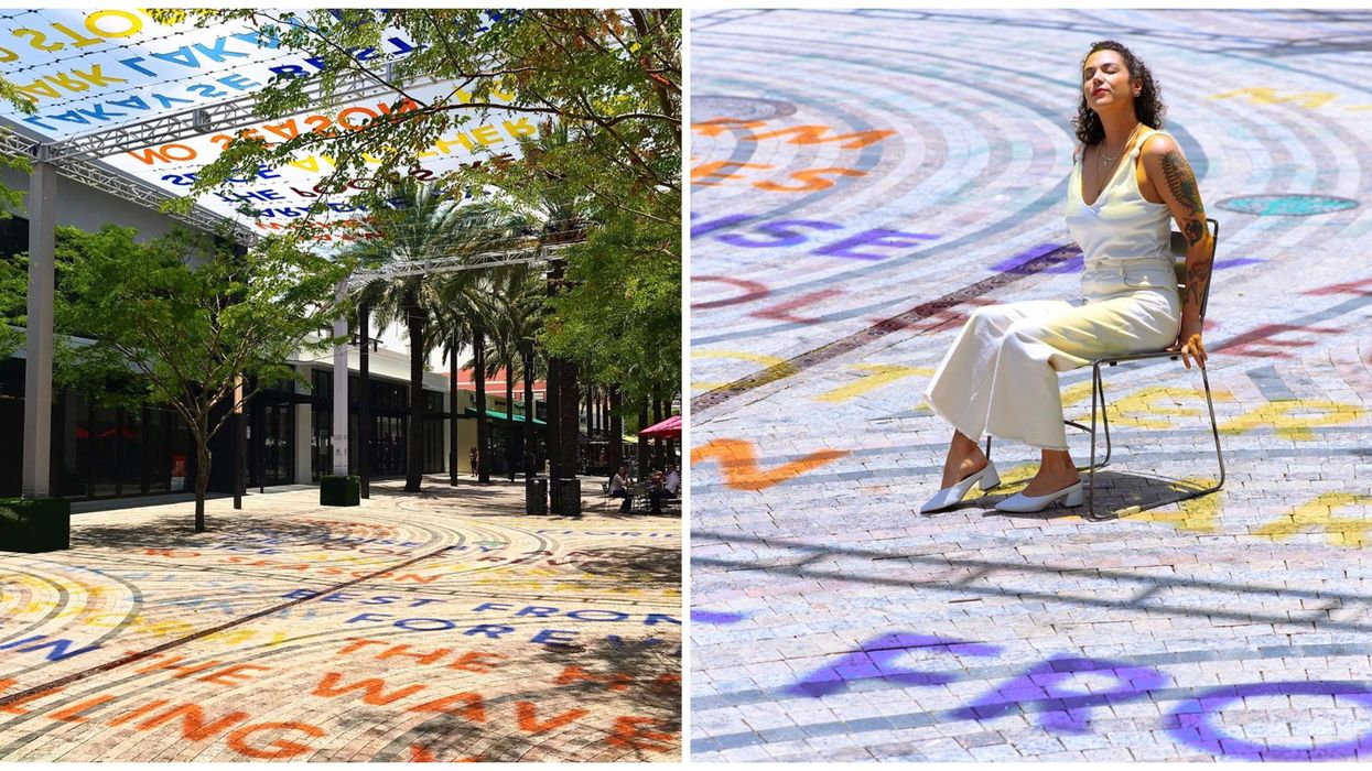 This Highly Anticipated New Art Installation Brings The Streets Of Miami To Life