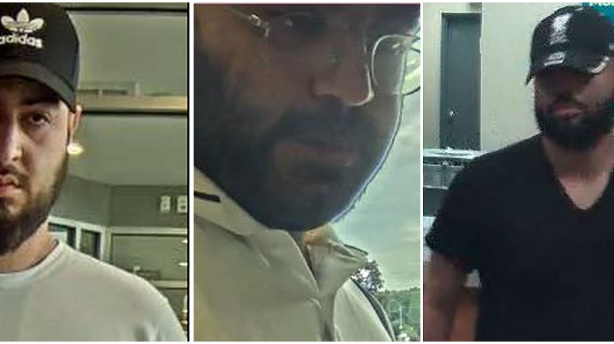 3 Men Are Wanted By Toronto Police For Alleged Pizza Delivery Fraud
