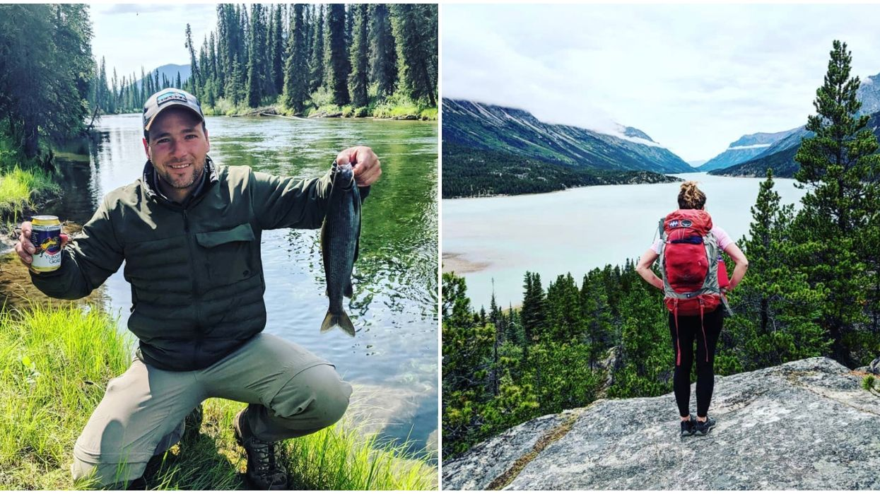 This Canadian Couple's First Tinder Date Was A 5-Day Hike Along The Chilkoot Trail