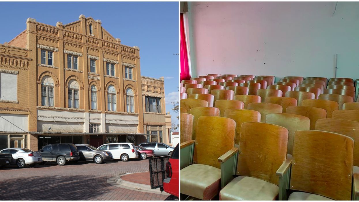 You Can Spend The Night At The Most Haunted Opera House In Central Texas Next Month