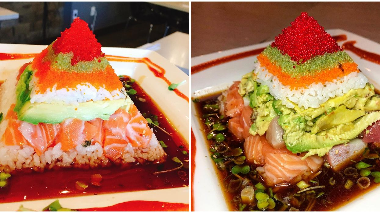 You Can Literally Eat A Massive Sushi Pyramid At This Restaurant In Atlanta
