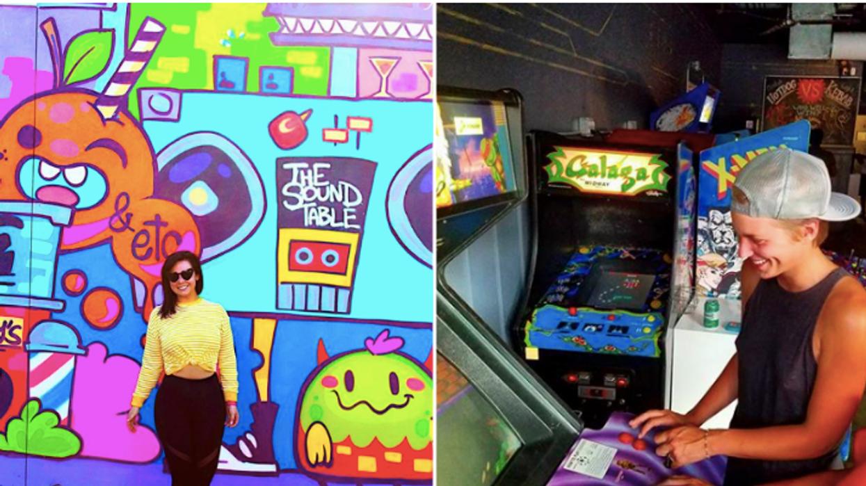 You Can Play 80s Arcade Games And Drink Booze At This Super Retro Atlanta Bar