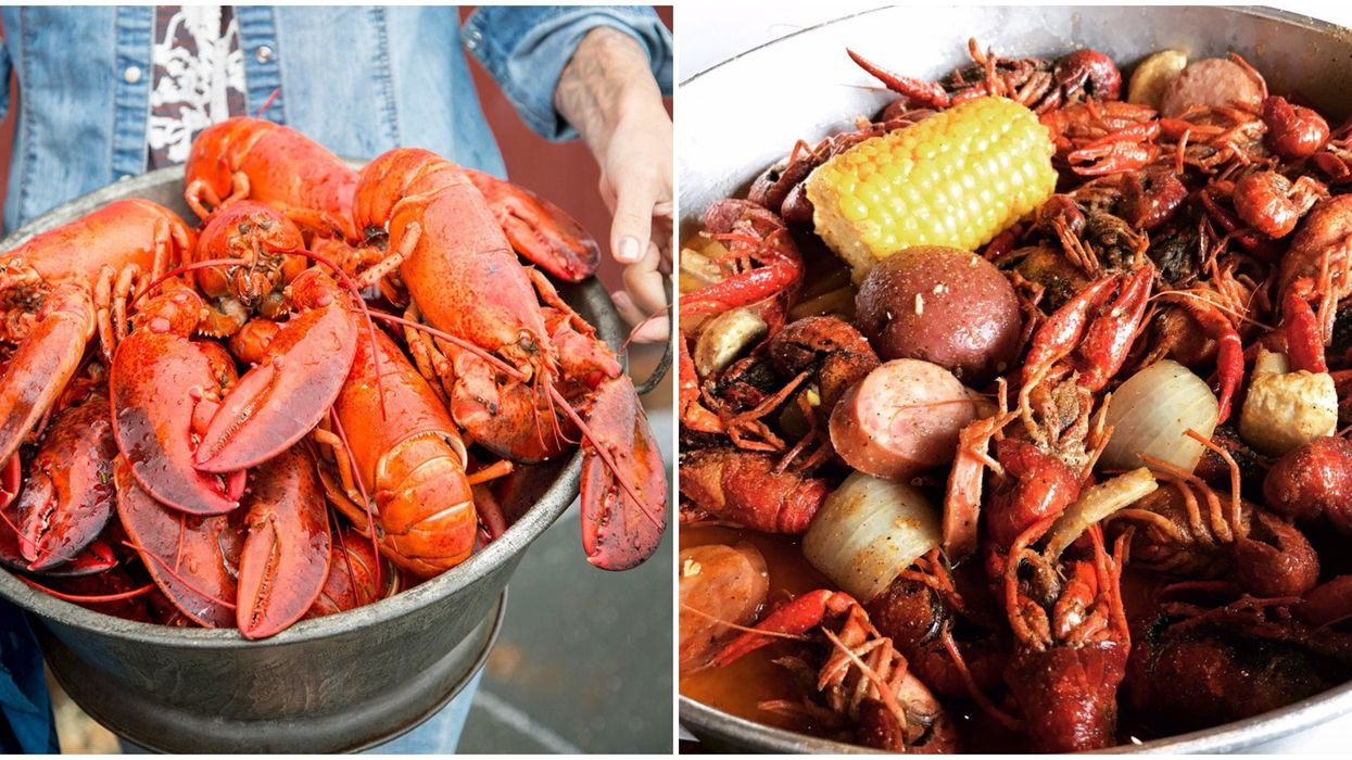 This Massive Lobster Fest In Central Texas Will Have All-You-Can-Eat Seafood This Fall