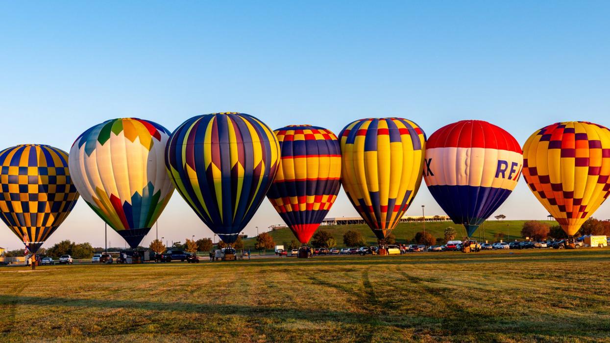 A Massive Hot Air Balloon Festival Near San Antonio Is Happening This October