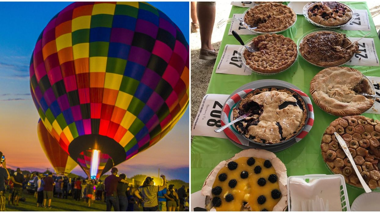 This Massive Festival Near Austin Will Have Hot Air Balloons And Endless Pie Next Month
