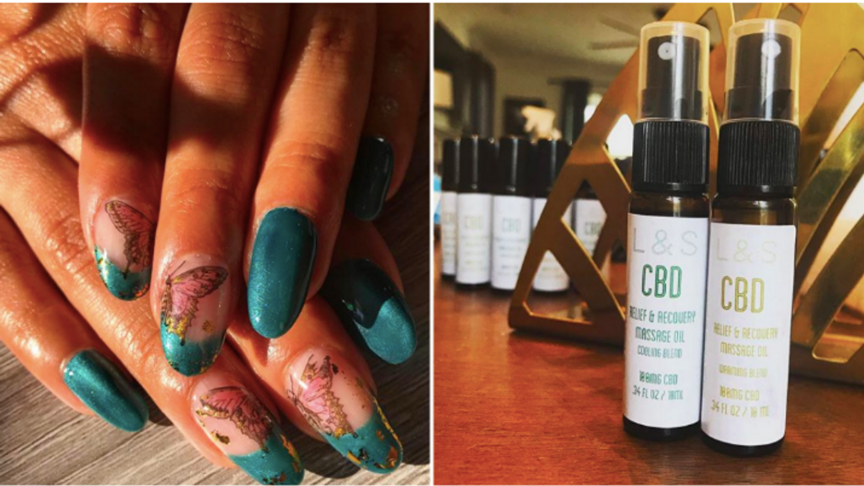This All-Natural Atlanta Nail Salon Offers CBD Gummies And Oils With Your Mani/Pedis