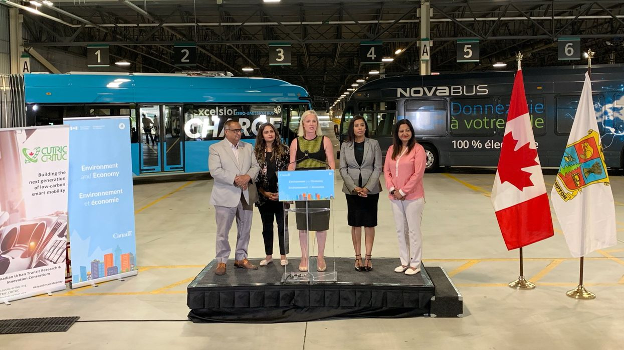 Electric Buses Are Coming To This GTA City And The Government's Hoping It's A Game-Changer