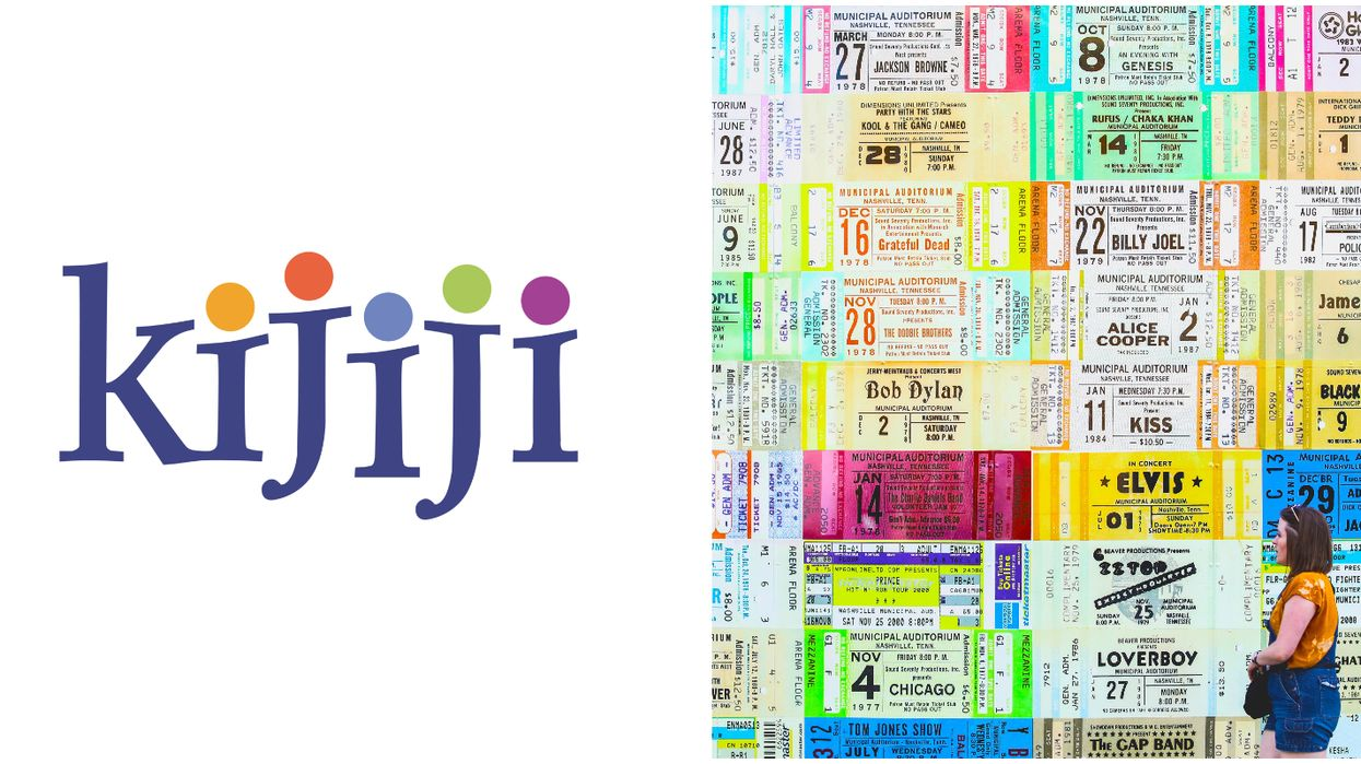 Kijiji Canada Won't Be Selling Event Tickets Anymore Because There Are Too Many Scams