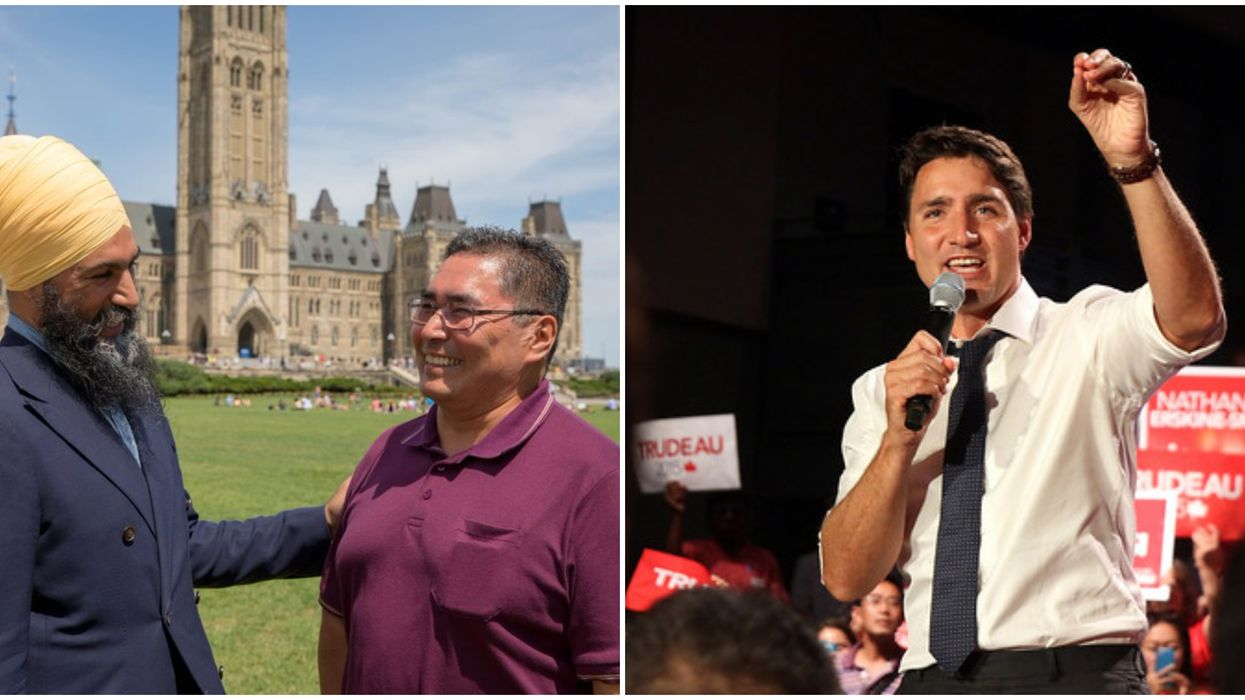 The Grassy Narrows Chief Who Criticized Justin Trudeau Is Now Running For The NDP