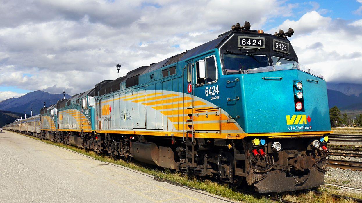 Via Rail offre des voyages en train à rabais à travers le Canada jusqu'à minuit ce soir